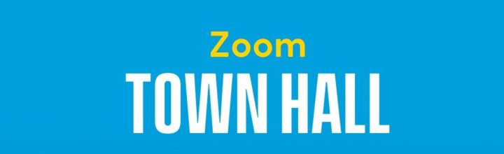 How to Access 4/18 Zoom Town Hall